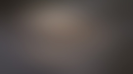 Brown abstract blurred dark gradient background with light gray spots. Fototapete