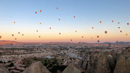 unusual landscapes for cappadocia