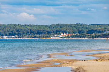 Beach of Prora, Ruegen island, Germany