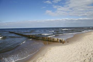 Morze Bałtyckie bałtyk nad morzem ustka mielno plaża