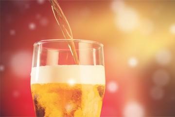 Keuken foto achterwand Bier / Cider Beer mug isolated on white beer mug on background