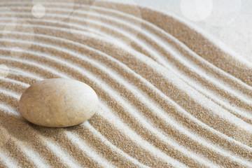 Photo sur Plexiglas Zen pierres a sable Zen garden