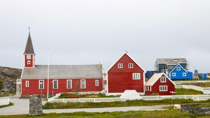Kirche in Nuuk, Grönland
