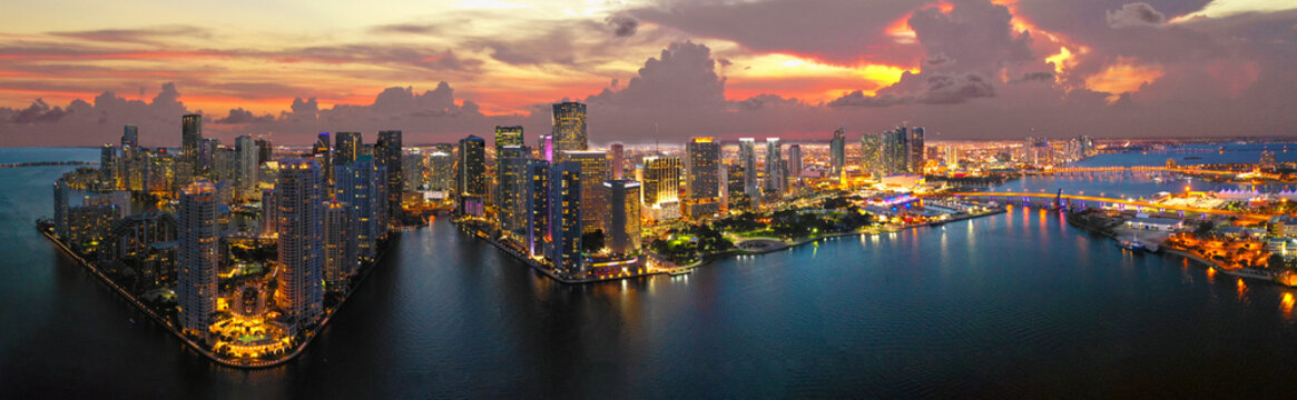 Miami Downtown Panorama