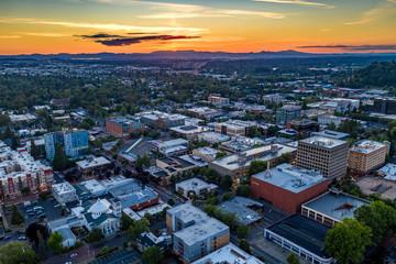 Fototapete - Eugene Oregon