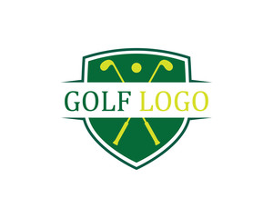 Golf Logo Template vector illustration icon