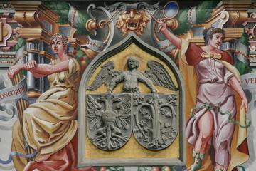 Lindau Mythologie Hauswand