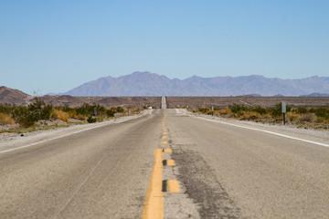 Endlose Straße Amerika