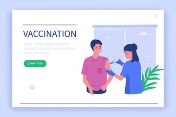 Obraz vaccination - fototapety do salonu