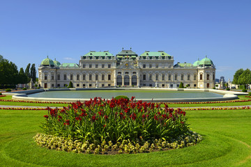 Fond de hotte en verre imprimé Vienne Vienna, Austria, Upper Belvedere Palace – Vienna is UNESCO World Heritage Site