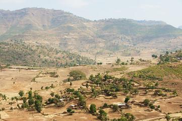 Ethiopian landscapes.