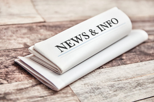 News & Info in newspaper and newsletter