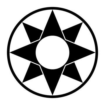 Star of Ishtar symbol