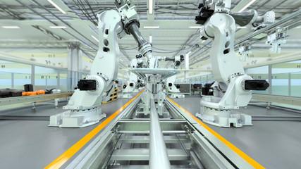 Industrial Robot Factory