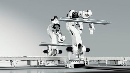 Interacting Industrial Robots