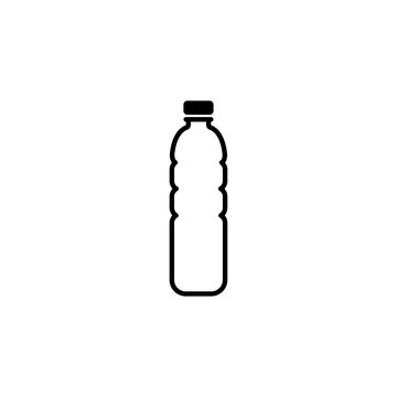 Bottle Of Water Icon Template Vector Design Illustration - Vector