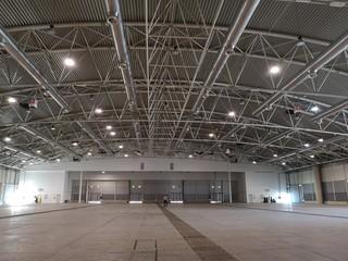Fototapeta interior empty exhibition hall obraz