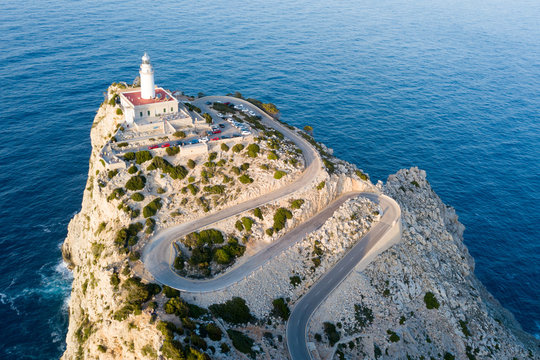 The lighthouse at Cape Formentor in Mallorca