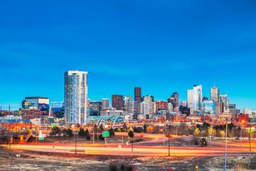Fototapete - Denver, Colorado, USA