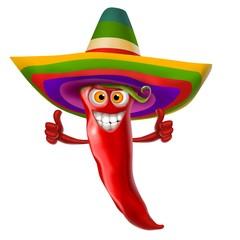 Fototapete - peperoncino messicano