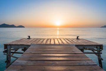 Sonnenaufgang in Playa de Muro, Mallorca