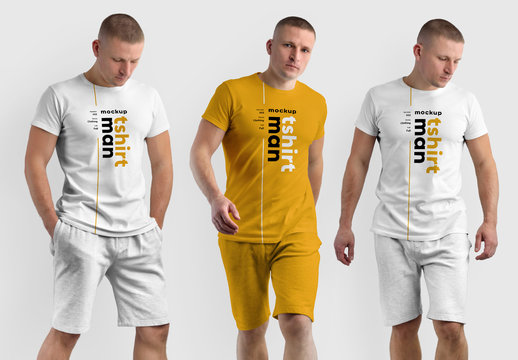 4 Athletic Outfit Mockups