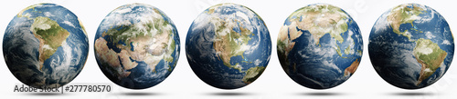 Wall mural Planet Earth ecology concept set