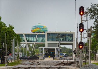Brightline high speed train station Fort Lauderdale FLorida