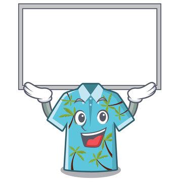 Up board hawaiian shirt in the mascot shape