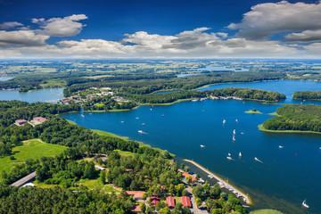 Fototapeta Mazury, jezioro Kisajno koło Giżycka obraz