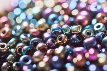 Beautiful beads background