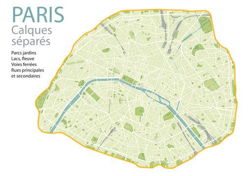 PLAN DE PARIS - ULTRA DETAIL- Calques - #2