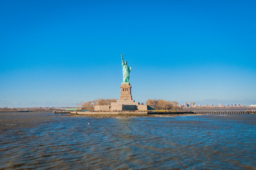 Statue of Liberty in New York, United States.