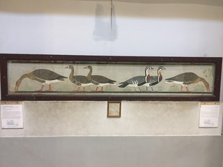 The Egyptian Meidum Geese Ancient Painting