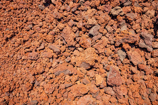 Background of volcanic porous slag