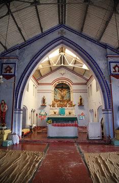 Catholic Church in Bosonti, West Bengal, India