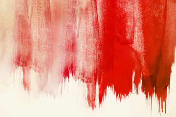 Estores personalizados con tu foto abstract red watercolor paint brush stroke on background like a blood