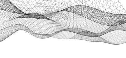 abstract graphic geometry 3d illustratio