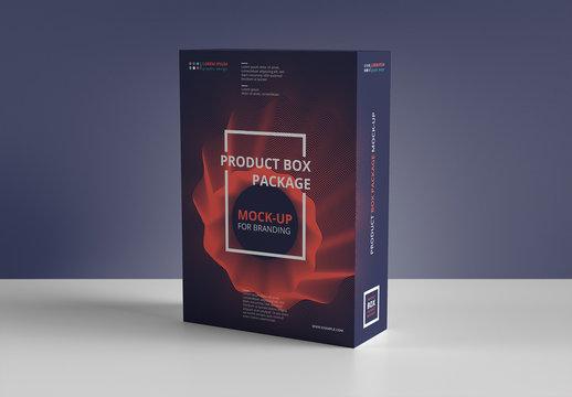 Rectangular Product Box Mockup