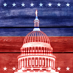 USA background The Capitol