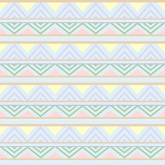 Photo sur Plexiglas Draw Abstract African Seamless Textile Pattern Design 3