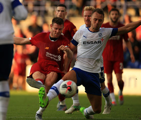 2019 Pre-season Football Friendly Tranmere v Liverpool 11th