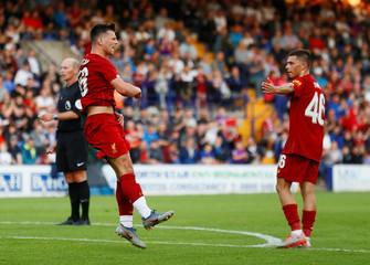 Pre Season Friendly - Tranmere Rovers v Liverpool