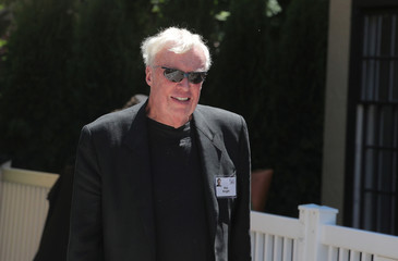 Phil Knight, former chairman and founder of Nike, attends the annual Allen and Co. Sun Valley media conference in Sun Valley, Idaho