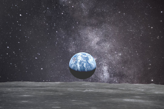 Earth from the space. Elements of this image furnished by NASA