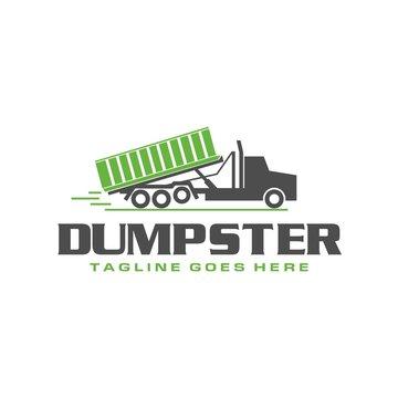 Dumpster Truck Logo
