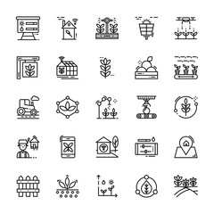 Smart Farm Icons Pack