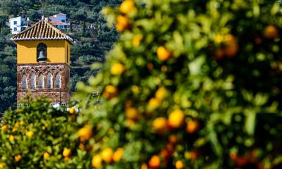 Minarete Mudéjar de Árchez, Andalusia, Spain