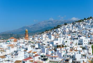 White village of Cómpeta, Andalusia, Spain