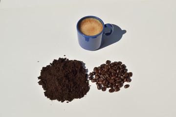 Printed roller blinds Coffee bar Une pause café une pause détente au soleil de l'été autour d'un excellent expresso issu de café de sélection pur arabica